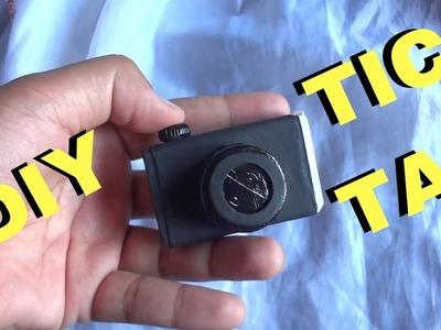 Diy  - Material Escolar -  Apontador de tic tac câmera