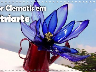 ACESSÓRIOS FLOR CLEMATIS com Junko Miazato - Programa Arte Brasil - 07.10.2016