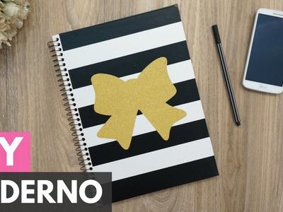 Caderno customizado (Com contact)  DIY - Faça você mesmo