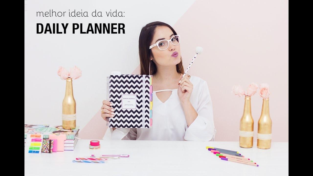 Dica de organização: como uso meu Daily Planner   Paperview ♥