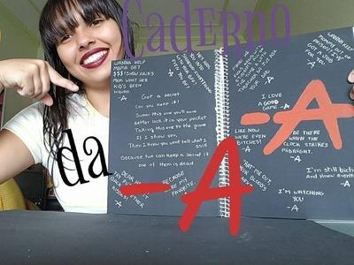 DIY: Caderno de Pretty Little Liar  #DanyTodoDia - DANY DIAS