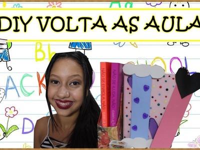 DIY VOLTA AS AULAS | AGENDA, CADERNO, PORTA LÁPIS E +