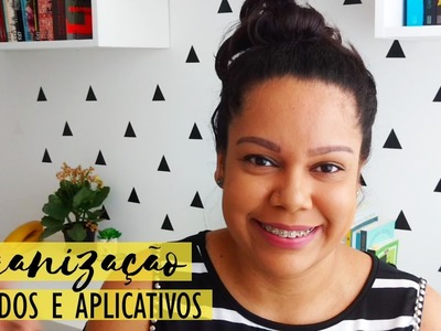 Organização: Bullet journal, Google Agenda, Planner e Evernote • Jeniffer Geraldine