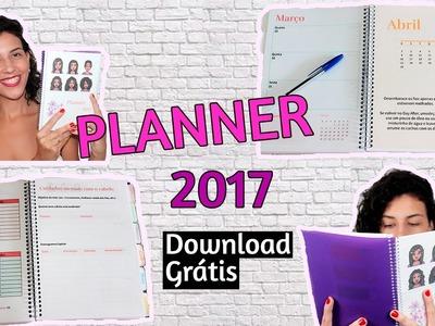 Planner 2017 para download - Especial cacheadas