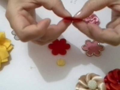 Como aplicar uma flor no bico de pato ou na presilha