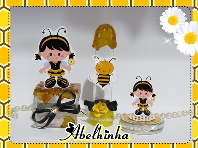 DIY: Como fazer lembrancinhas no tema abelhinha!!!