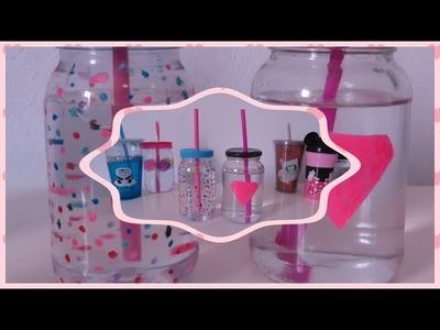 DIY: Copo com canudo personalizado