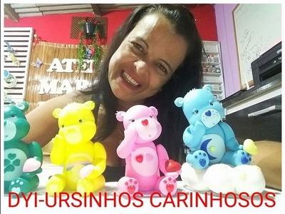 DIY- URSINHOS CARINHOSOS  EM BISCUIT BY-MARCIA BISCUIT