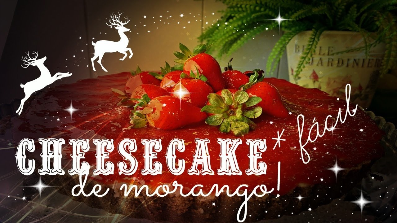 DIY ESPECIAL DE NATAL #2 - CheeseCake Delicioso e Fácil de fazer!!!