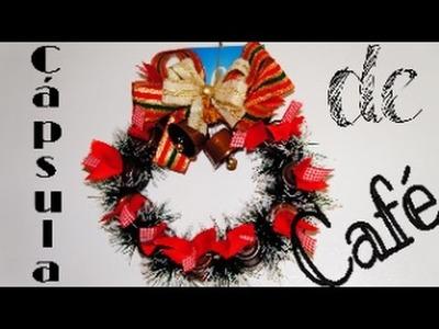 Diy: Guilanda de Natal com Cápsulas de café