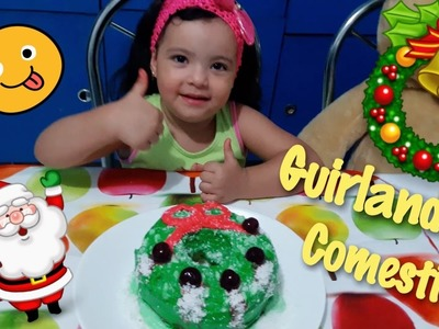 DIY: Guirlanda de Natal Comestível