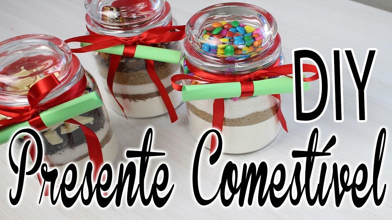 DIY Presente Comestível | #Tchuba30Dias | Dia - 6