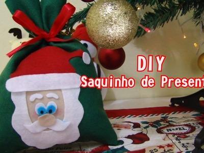 DIY Saquinho de Natal | Nina Costa DIY