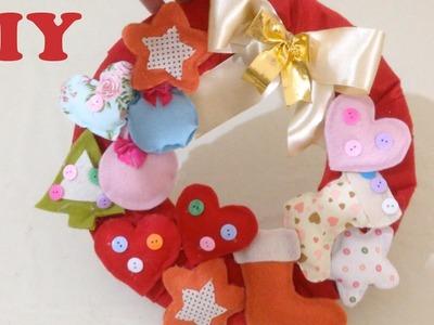 Do Lixo Ao Luxo : Como Fazer Guirlanda de Natal - Artesanato DIY