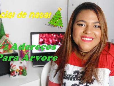 Especial de Natal - Diy : Adereços para Árvore de Natal por Steffane Gomes