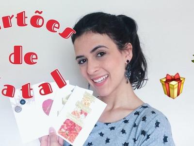 DIY: Cartões de Natal - Ho Ho Ho!