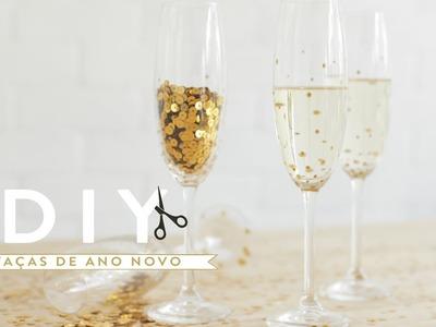 DIY Especial de Ano Novo: Taças decoradas | WESTWING