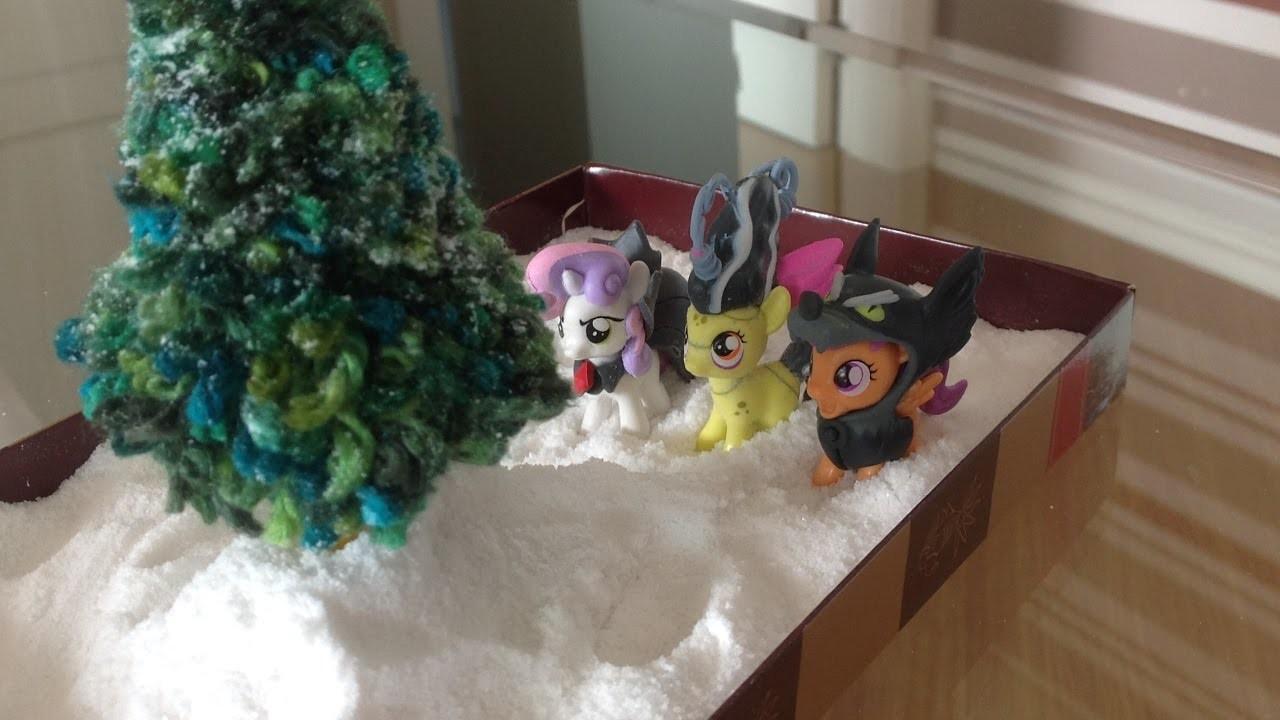 DIY - Mini Árvore de Natal!!!