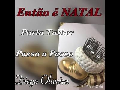DIY - Porta Talher de NATAL