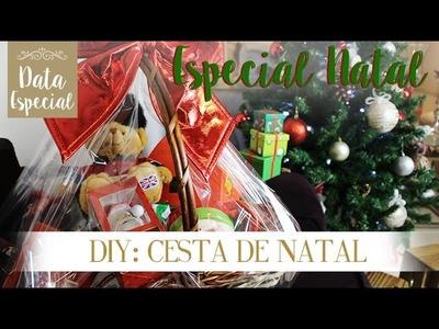Natal DIY - Cesta de Natal