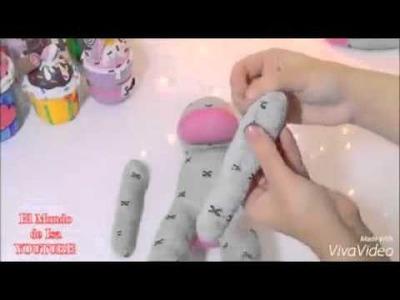 Como fazer cachorrinho de pelúcia com meias