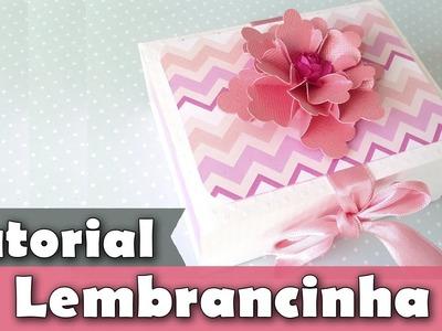 Como fazer lembrancinha | Caixa | Tutorial | PAP