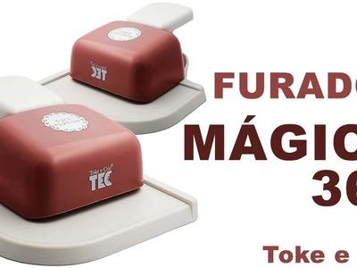 Furador Mágico 360 Toke e Crie - Como Utilizar