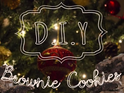 D.I.Y.: Brownie Cookies