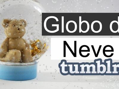 DIY: Globo de neve