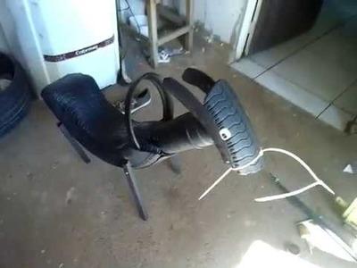 Artesanato de Pneu como fazer cavalinho  e pneu
