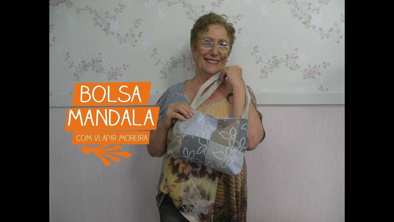 Bolsa Mandala com Vladir Moreira   Vitrine do Artesanato na TV