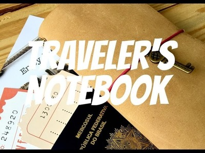 Como fazer capa de couro para traveler's notebook