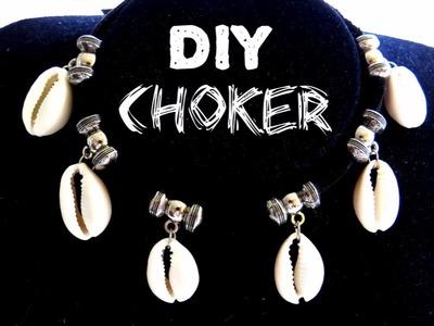 DIY BIJUTERIA -  CHOKER