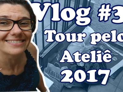 Vlog #3 | Arrumação e craft room tour 2017