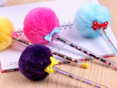 10 DIY MATERIAL ESCOLAR | 10 DIY SCHOOL SUPPLIES  - ESTOJO, LÁPIS E CLIPS