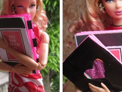 BARBIE VOLTA AS AULAS! CADERNO DIY