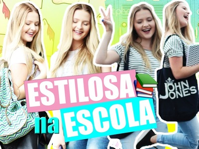 COMO SER ESTILOSA NA ESCOLA  | LOOKS E DIY + CUSTOMIZE SEU UNIFORME