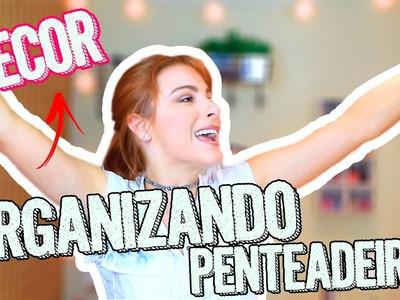 DIY 10 DICAS Incríveis! Organiza&Decora cantinho Penteadeira! #DiariodeDecoração01