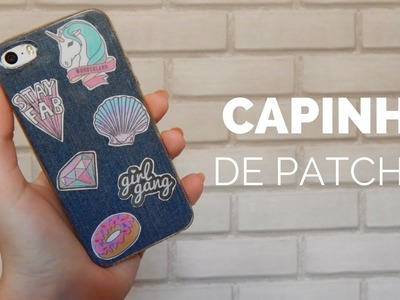 DIY: Capinha de patches