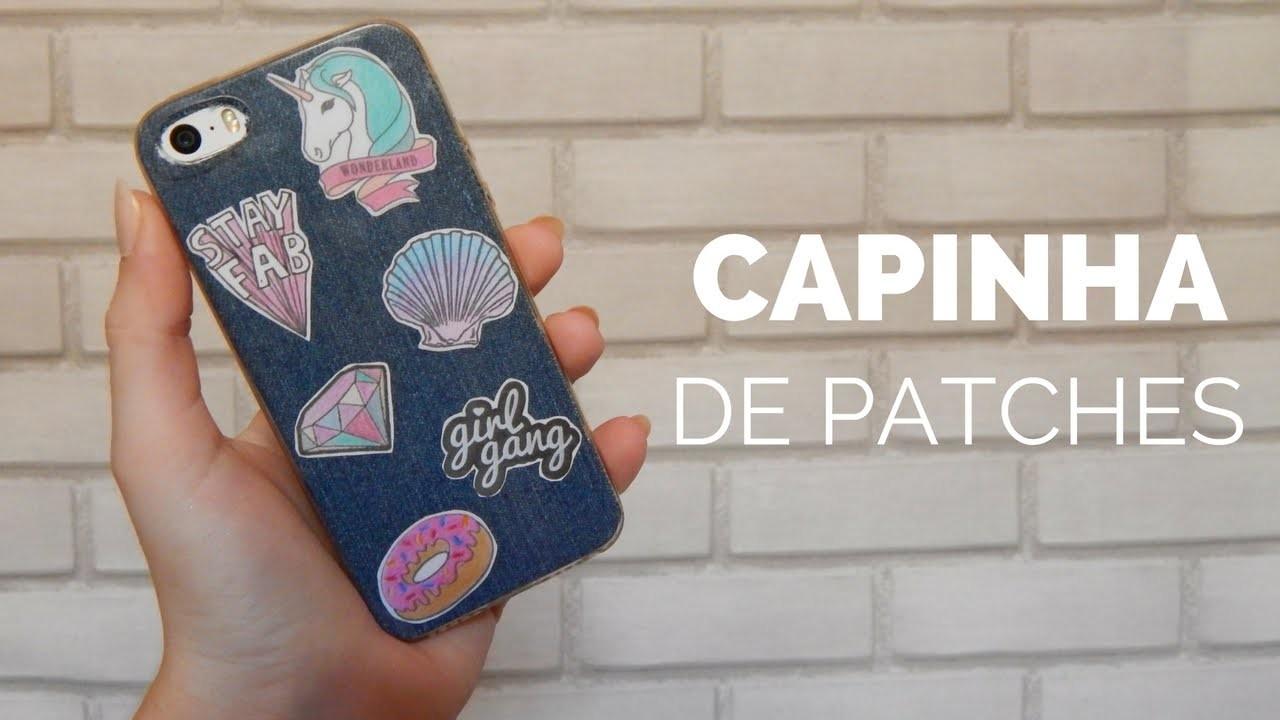 DIY: Capinha de patches