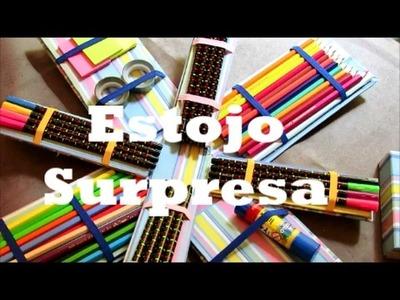 DIY: Estojo Surpresa! Volta às aulas divertido por Camila Camargo