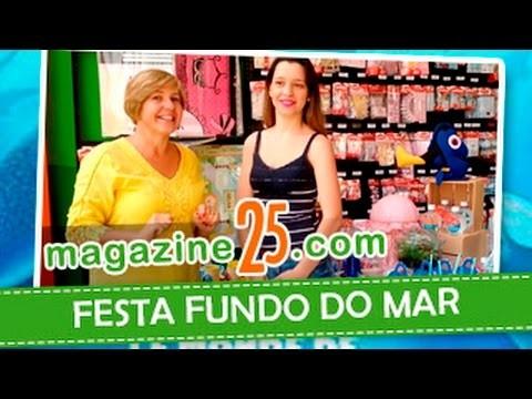 Decoração Festa Fundo do Mar - DICAS DA ARLETE