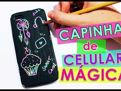 DIY: CAPINHA DE CELULAR MÁGICA!