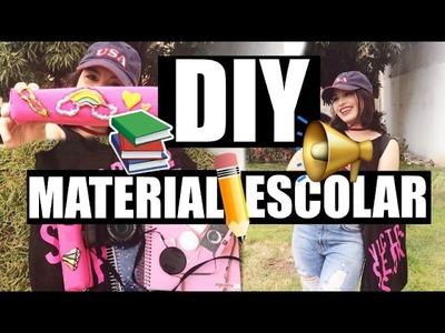DIY + MATERIAL ESCOLAR 2017 por Giovanna Sampaio
