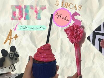 DIY VOLTA ÀS AULAS MATERIAL ESCOLAR PANDA DIY SCHOOL SUPPLIES