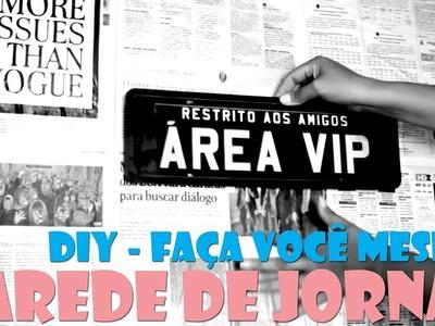 EHOQ DIY - Parede de Jornal