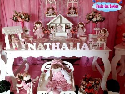 Decoração do Tema Casinha de Bonecas - Festa dos Sonhos