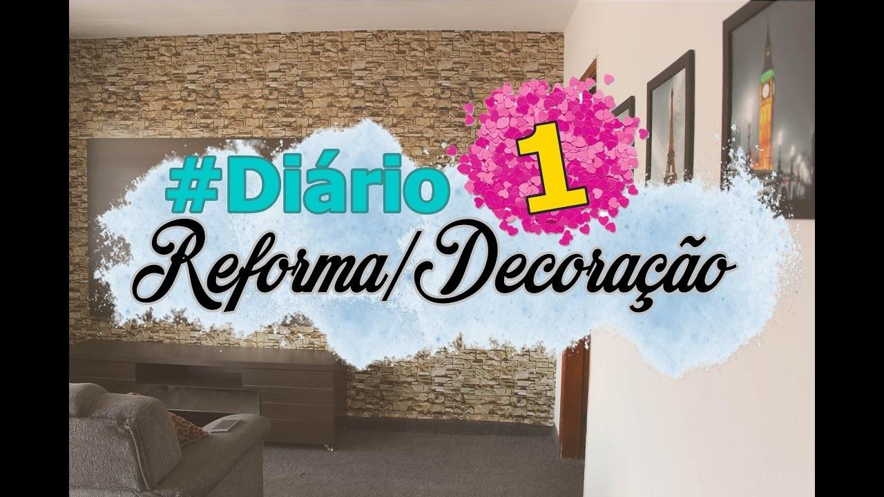 #DIÁRIODEREFORMA.DECORAÇÃO: Ampliação da Casa, Sala e mais.