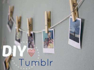 :DIY: Decoração Tumblr