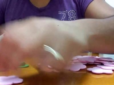 Lembrancinhas e decoração de mesa do chá de mulheres